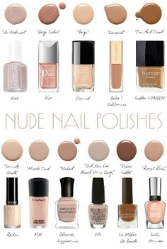 Perfect nude nails