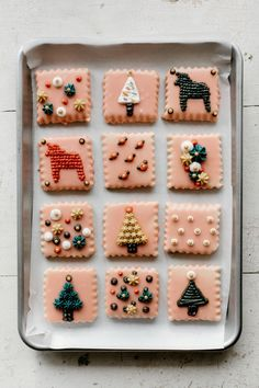 """glazed sugar cookies with buttercream """"embroidery"""""""