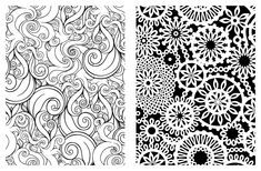 Amazon.com: Posh Adult Coloring Book: Pretty Designs for Fun & Relaxation (9781449458751): Andrews McMeel Publishing LLC: Books