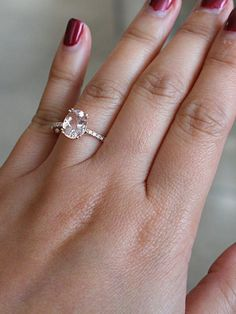 Our impressive custom handmade moissanite wedding ring set, from Camellia Jewelry, will take her breath away. Custom handcrafted in the finest details, this unique engagement ring set features a carat round cu Wedding Rings Simple, Wedding Rings Solitaire, Wedding Rings Vintage, Wedding Jewelry, Bridal Rings, Big Engagement Rings, Cushion Cut Engagement Ring, Beautiful Engagement Rings, Solitaire Engagement