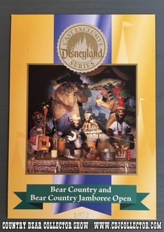 https://flic.kr/p/HPQ6V4 | 2005 Disneyland 50th Anniversary Cast Member Exclusive Trading Card - Country Bear Jamboree Collector Show #057 | This episode we look at a Cast Member exclusive trading card that was released in 2005 to celebrate the 50th Anniversary of Disneyland.  This card celebrates the 1972 opening of Bear Country and the Country Bear Jamboree.  Our host gives the card a thorough review and even notices a little misprint on the card before giving it his patented 'Paw…