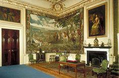 Blenheim Palace. Corner painting/mural.