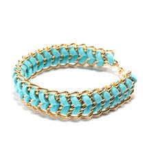 Friendship Bracelet Turquoise, $26, now featured on Fab.