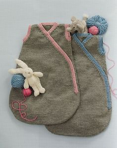 Ravelry: #6 Simple Sleep Sack pattern by Jeannie Chin @caragirandolona