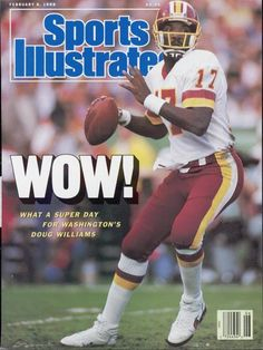 redskins beat broncos in super bowl | 25th anniversary of Doug Williams' historic Super Bowl XXII victory ...