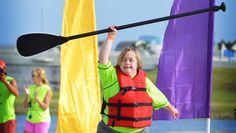 Adaptive standup paddleboarding is gaining popularity and giving new opportunities to those with special needs.