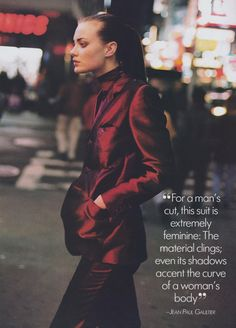 88638d78924 EDITORIAL- Vogue  US  (August  97) Shalom Harlow by Peter Lindbergh  (Fashion Editor  Brana Wolf)