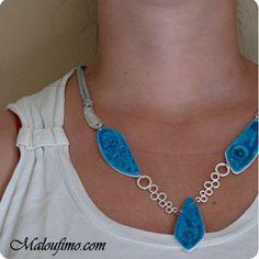 Tutoriel collier bleu | Tutoriel