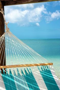 Deserted beach, one hammock, great book = Heaven <--- The book does not even have to be all that great
