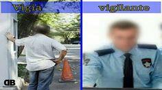Muita gente ainda não sabe qual é a diferença entre vigia e vigilante, embora exista essa confusã...