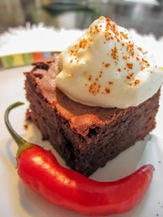 Chillies in a chocolate cake, hot & sweet! Photo by Marko Tarvainen.