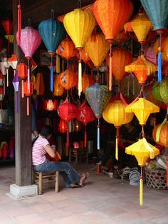 Lantern Shop in Vietnam