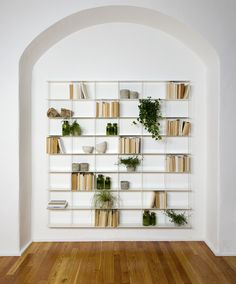 Buy the Krossing Shelving Unit White Medium 200 x by Kriptonite and more online today at The Conran Shop, the home of classic and contemporary design Industrial Shelving Units, Wall Shelving Units, Modular Shelving, White Shelving Unit, Shop Shelving, Modular Storage, Oak Floating Shelves, Shop Storage, Laque