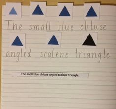 Elementary Observations: The Adjective and the Detective Triangle Game