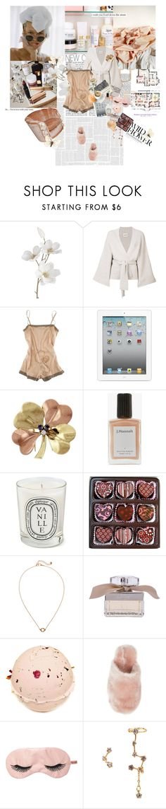 """""""peace of mind"""" by la-rosy on Polyvore featuring Pier 1 Imports, Le Kasha, STELLA McCARTNEY, Tiffany & Co., J. Hannah, Diptyque, Mother, Monki, Chloé and J.Crew"""