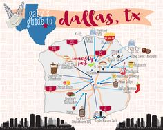 gaby's guide to dallas- your guide on how to eat & drink your way through Dallas