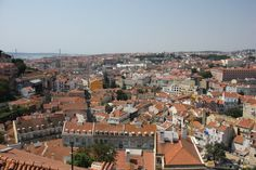 Eating in Lisbon, Portugal | by Shaheen, The Purple Foodie 21.09.2013 | Great tips on where to go, how to get around, where to stay and especially where and what to eat in Lisbon by Shaheen | Photo: View from Graça