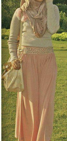 #Hijab soirée Style.