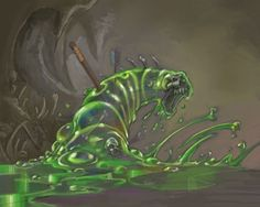Card Name: Devouring Ooze Artist: Samwise Didier