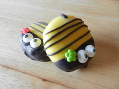 Bumble Bee Chocolate Dipped Oreo Cookie by LadyBugzandLace on Etsy, $20.00