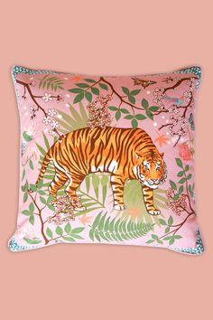 Tiger Blossom Cushion