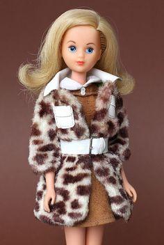 """German Francie in #1240 """"Pony Coat"""" 1970-71 & 1974 by fashiondollcollector, via Flickr"""