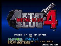 Metal Slug 4 - Neogeo Online Games