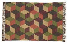 Calistoga Rectangle Kilim Rug 4x6'