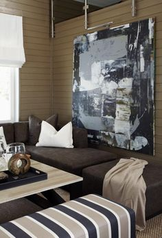 Holiday Home Interior, Artwork — Christian's & Hennie - www. Interior Work, Interior Design Studio, Home Interior, Interior Decorating, Decorating Ideas, Flex Room, Little Corner, Loft Style, Modern Spaces