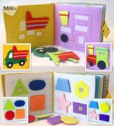 Kinder ruhig Buch Buch beschäftigt umweltfreundliche von MiniMoms