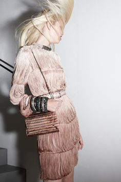 fringe dress - Lanvin Resort 2012 Lookbook