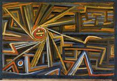 Paul Klee - Rayonnement et Rotation - 1924