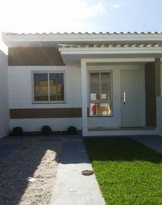 fachada de casa geminada com varanda - Pesquisa Google