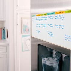 Keep track of a week's worth of activities with our Post-it® Dry Erase Planner. Stick it to a wall, refrigerator or inside a cabinet door and reposition as needed. | $8.99