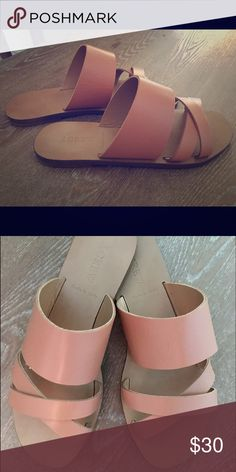 JCrew Sandals Size 6.5 Worn once, excellent condition. Sold out online. J. Crew Shoes Sandals