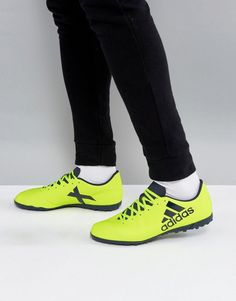 pretty nice 39223 96b93 Adidas Soccer x 17.4 astro turf sneakers in yellow s82415