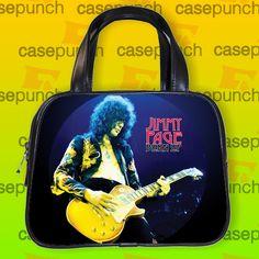 An4-led Zeppelin Classic Jimmy Page Guitar Handbag Purse Woman Bag Classic