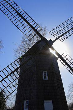 Wind mill on Long Island, NY