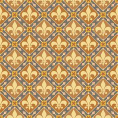 Brown Medieval Repeat custom fabric by poetryqn for sale on Spoonflower