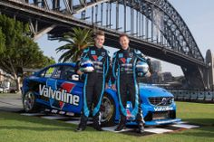 The Volvo S60 V8 Supercar was revealed this morning after a quick drive across the Sydney Harbour Bridge! Scott and Robert are looking forward to the first official test day this weekend.