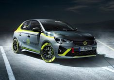 German automaker Opel has created what it claims to be the world's first fully-electric rally car, the Corsa-e. Toyota, Peugeot 208, Automobile, Electric Fires, Porsche Gt3, Bmw, Power Cars, Car Prices, Rally Car
