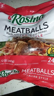 Steven Helmer Publications: Review of Rosina Italian-Style Meatballs