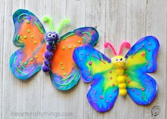 How to Make a Gorgeous Butterfly Craft   I Heart Crafty Things