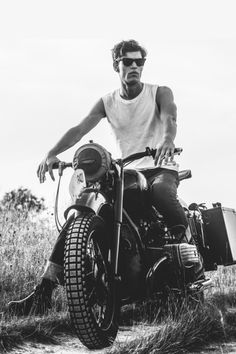 Mens Fashion // Man & his ride © | Assured To Inspire