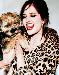 Eva Green and friend.