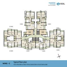 Wing-C Typical Floor Plan