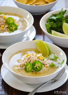 Lime Quinoa and Chicken Soup Recipe -- Healthy zesty meal like chicken and quinoa soup with a kick. And there is plenty leftovers that can be frozen. Without the corn of course! Chicken Soup Recipes, Healthy Soup Recipes, Clean Eating Recipes, Healthy Eating, Cooking Recipes, Lime Quinoa, Comida Latina, Soup And Sandwich, Soup And Salad