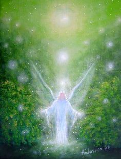 Nurture Loving Connections and Angelic Forces will guide you along a Path of Transforming Spiritual Experiences... Michael Teal  arTist; Benny Andersson