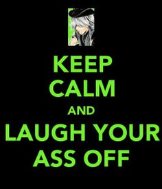Keep Calm Black Butler Undertaker