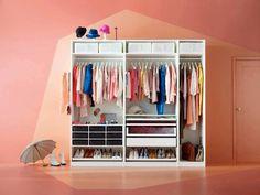 Kids cupboard - maximizing space